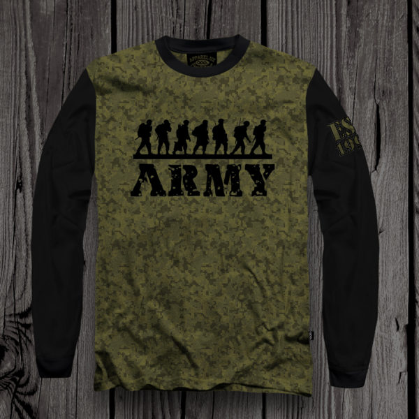 T-shirt 2018 ARMY1 appareluz